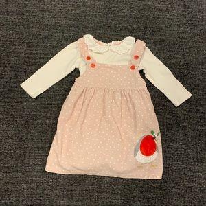 Mini Boden Dress and Bodysuit